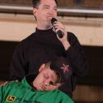 Comedy Hypnotist Rodney Rash On stage
